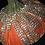 Thumbnail: Pumpkin, Orange, crystal mesh trim