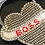 Thumbnail: Bracelet, Heart Boss, Silver