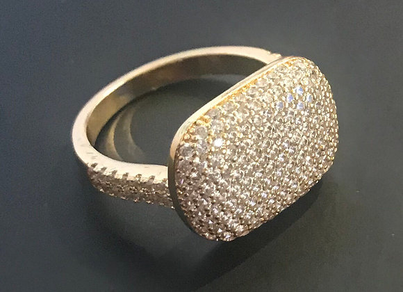 Ring, Cubic Zirconia - Clear