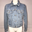 Thumbnail: L/S Lt. Blue Denim Jacket, Swarovski Crystal Trim