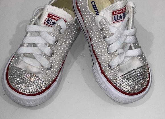 CONVERSE, Chuck Taylors, Tennis Shoes, Swarovski Crystals & Spikes