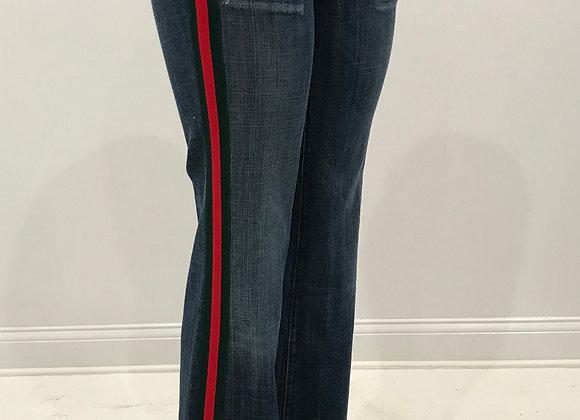 Denim Jeans, CITIZENS OF HUMANITY, Blue, GUCCI Stripe Trim