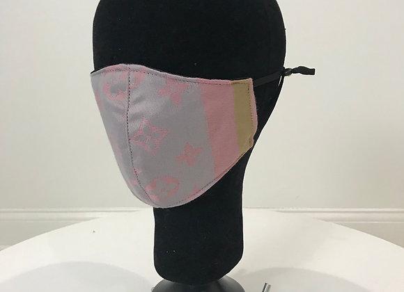 LOUIS VUITTON, Cashmere, Lavender/Blush, GLAMical face mask