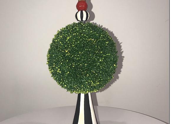 CUSTOM Topiary, Hand Painted
