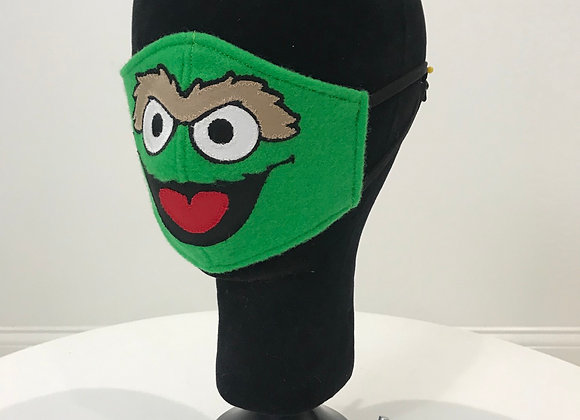 SESAME STREET Oscar The Grouch, GLAMical face mask