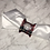 Thumbnail: Napkin Ring Holder, Red Plaid, Broach