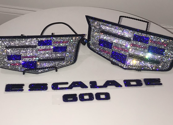 Cadillac Vehicle Emblems Swarovski Crystals