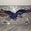 Thumbnail: License Plate, American Eagle, Swarovski Crystals