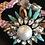 Thumbnail: Bracelet, Flower, Crystals, Pink