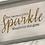 "Thumbnail: ""She Leaves A Little Sparkle Wherever She Goes"" Wall Art, Wood, Swarovski Crysta"
