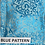 Thumbnail: Blue Brocade Satin, Pink Roses, Crystal Trim, GLAMical Face Mask