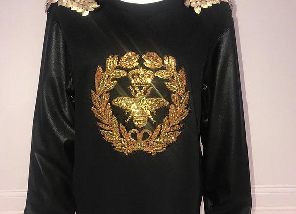 L/S Sleeve Crew Neck Sweatshirt