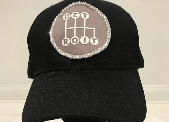 DETROIT Sports Teams Baseball Hat, Swarovski Crystals