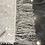 Thumbnail: Table Runner, White Sequin, Beaded Fringe