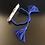 Thumbnail: Bracelet, Grateful, Blue