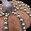 Thumbnail: Pumpkin, Orange,  Gold Bead Trim