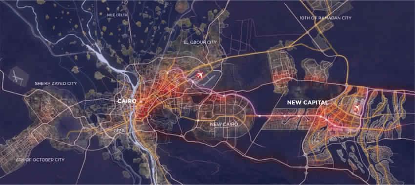New Capital Of Egypt Location