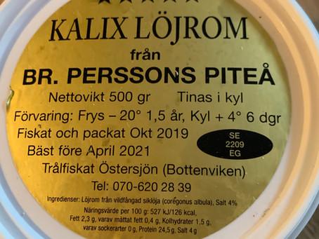 Wildfleisch Kalix Löjrom Rauchlachs und Zimtschnecken nach Hause bestellen.