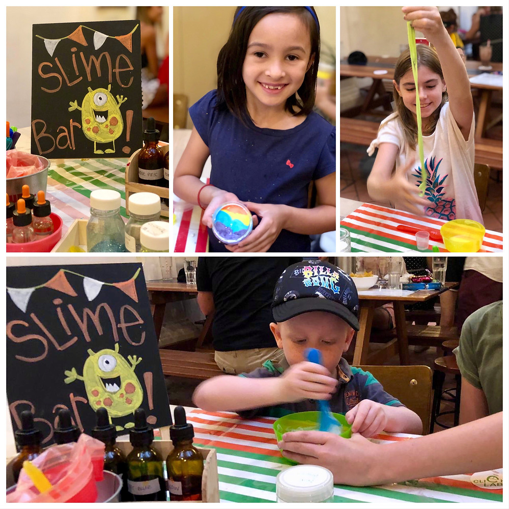WahSoSimple Crafting with Children Slime Bar