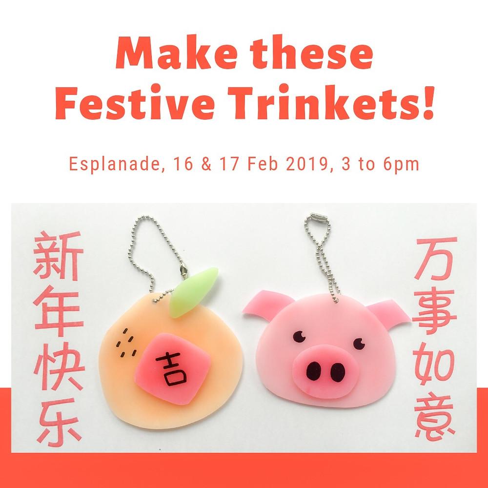 WahSoSimple Shrink Art Festive Trinkets Esplanade Singapore