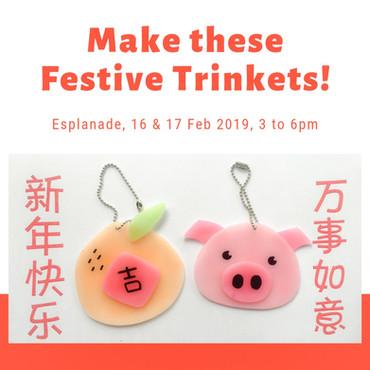 Lunar New Year Shrink Art Fun at HUAYI Festival 2019!