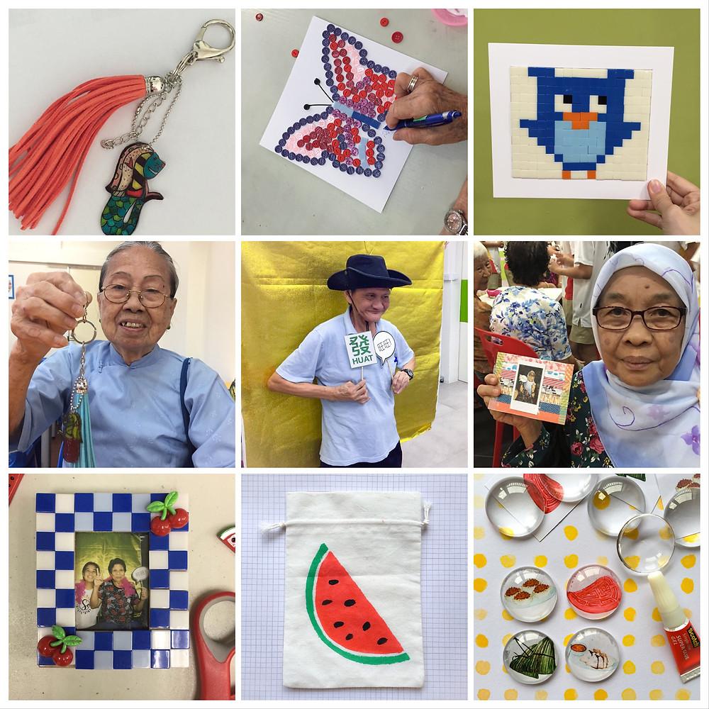 WahSoSimple Crafting with Seniors