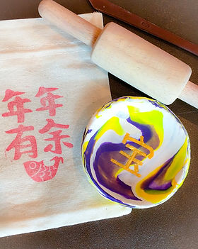 WahSoSimple Marbled Clay Dish Workshop