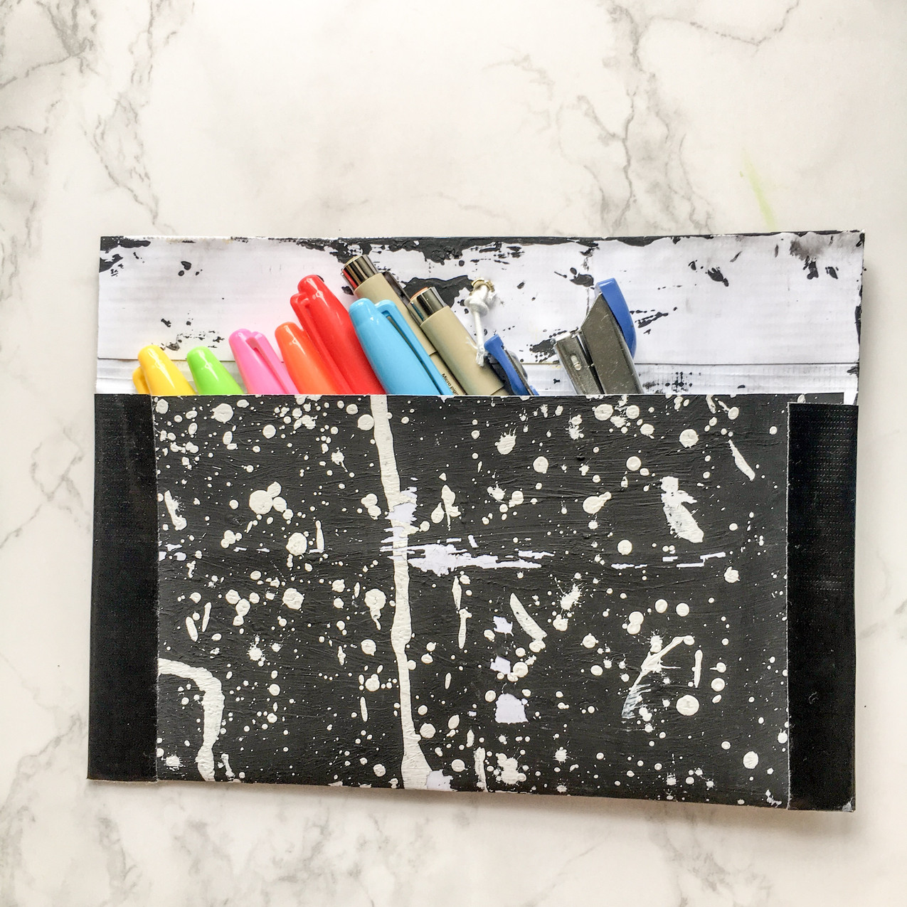 WahSoSimple Upcycling Envelope Pouch