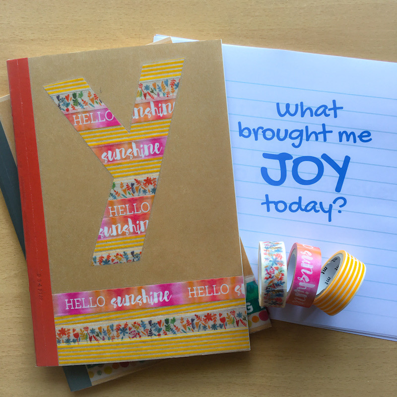 Decorate your notebook with washi tape at WahSoSimple Mental Wellness Craft Workshop