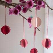 Mini Upcycled Lunar New Year Lanterns!