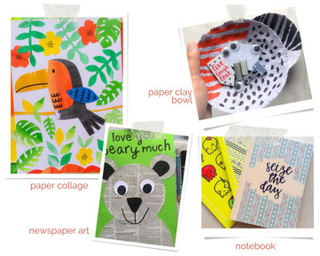 Upcycling Workshops with Used Paper