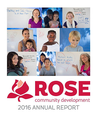 ROSE 2016 Annual Report cover