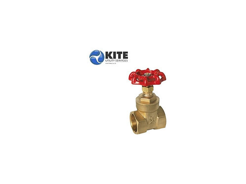 Brass Gate Valves - various sizes