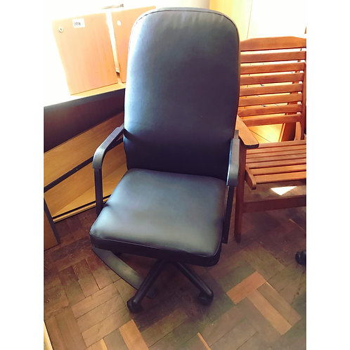 Exec leth office chair