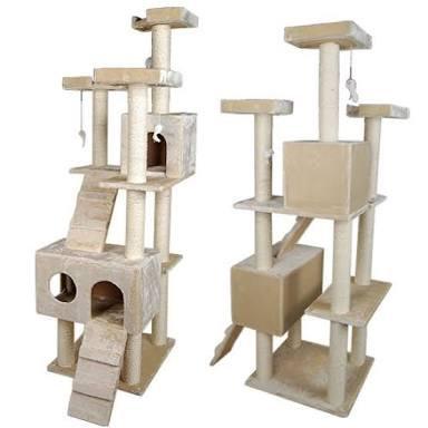 Cat scratcher tower