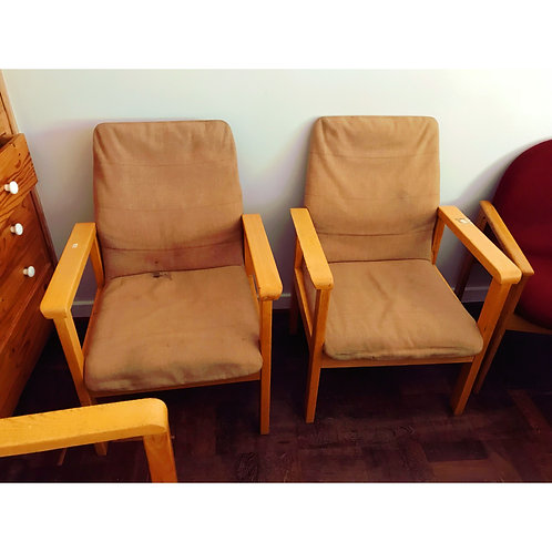 Client chairs 4 pc