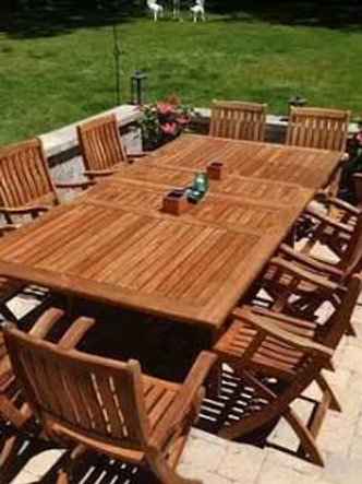 Wooden patio set(8 seater)