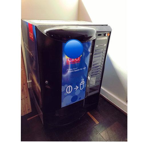 Coffee vendor machine