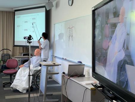 基礎看護学の授業ヘルスアセスメント論