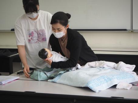 3年生保健師課程の家庭訪問演習
