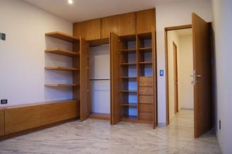 Vista de interior closet - armario