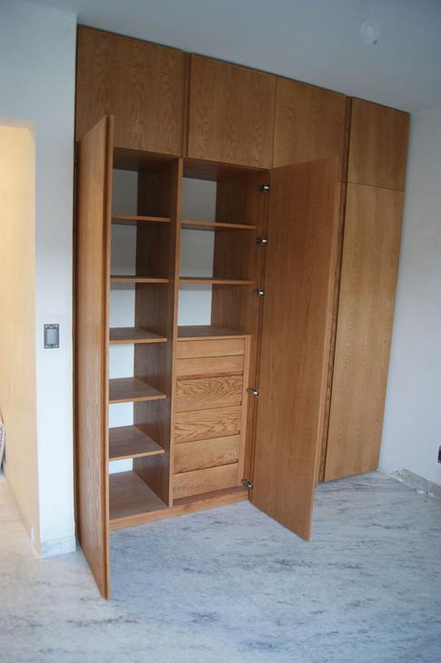 Closte armario abierto