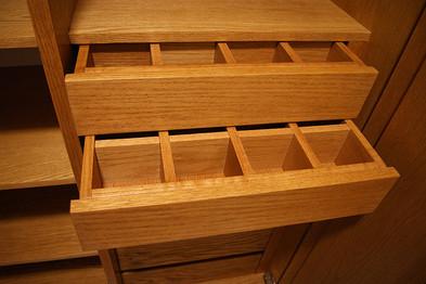 Cajón corbatero armario