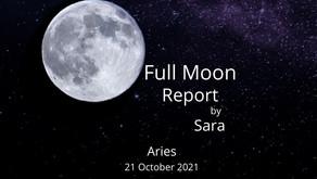 Full Moon in Aries 21 October 2021