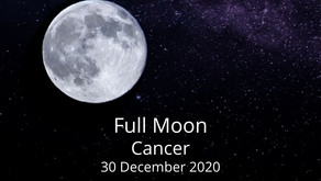 Full Moon in Cancer 30 December 2020