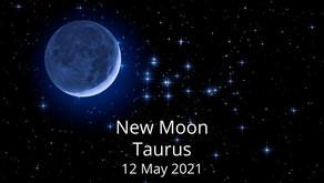 New Moon in Taurus 12 May 2021