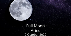 Full Moon in Aries 2 October 2020