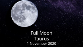 Full Moon in Taurus 1 November 2020