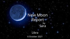 New Moon in Libra 6 October 2021