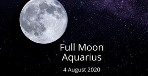 Full Moon in Aquarius 4 August 2020